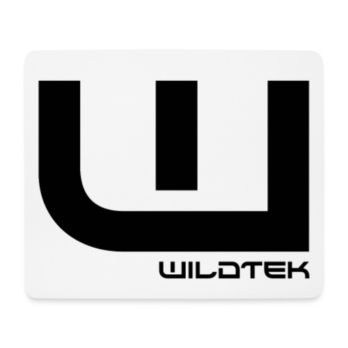 Wildtek Logo Black - Mouse Pad (horizontal)