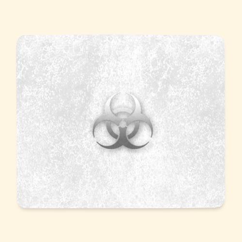 Biogefährdung Piktogramm in grau - Mousepad (Querformat)
