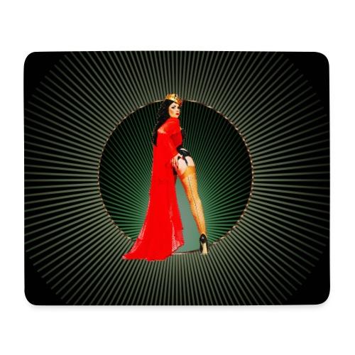 Pinup your Life - Xarah as Pinupart - Queen - Mouse Pad (horizontal)