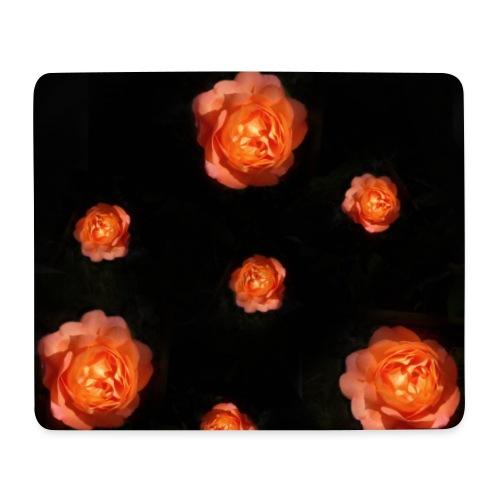 Gott ist gut - Rose Orange - Mousepad (Querformat)