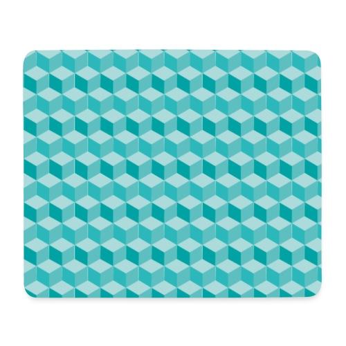 Geometric Cube Pattern - Mouse Pad (horizontal)