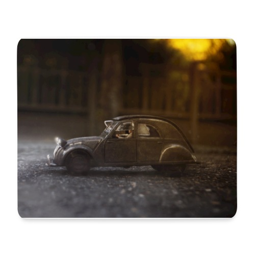 Voiture miniature - Tapis de souris (format paysage)