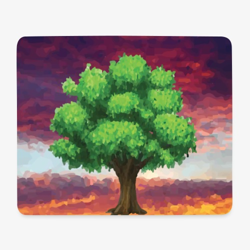 Tree in the Wasteland - Mouse Pad (horizontal)