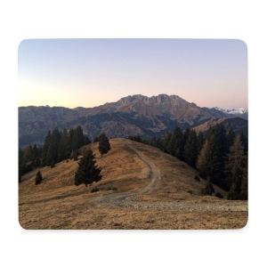 Mountain - Tappetino per mouse (orizzontale)