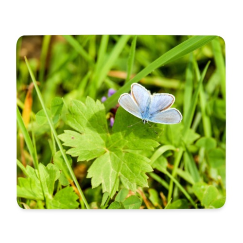 Blue Butterfly by EmilyLife® - Mouse Pad (horizontal)