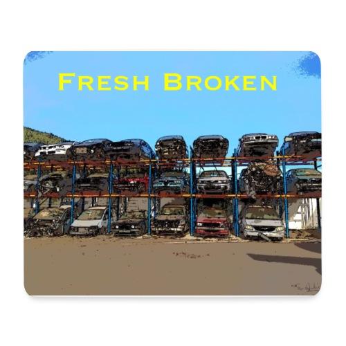 Fresh Broken - Alfombrilla de ratón (horizontal)