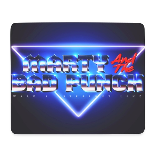 marty and the bad punch - Mouse Pad (horizontal)