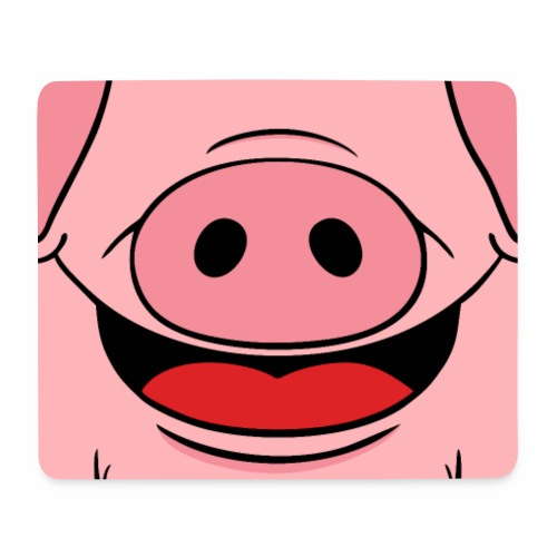 Pig face - Mouse Pad (horizontal)