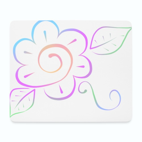 Tonalidades de en flor - Alfombrilla de ratón (horizontal)