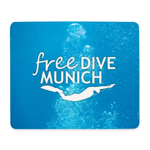 FreeDive Munich underwater - Mousepad (Querformat)