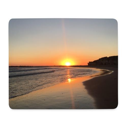 coucher de soleil - Tapis de souris (format paysage)
