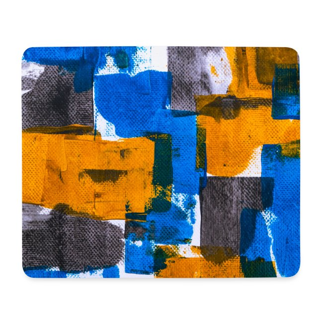 Abstract Art blue/yellow
