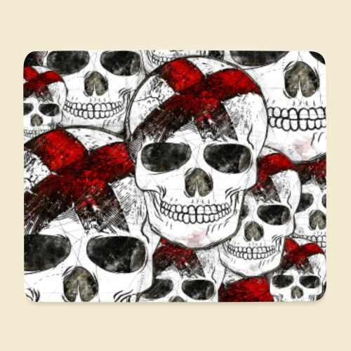 Radball | Cycle Ball Skull Handy Hülle - Mousepad (Querformat)