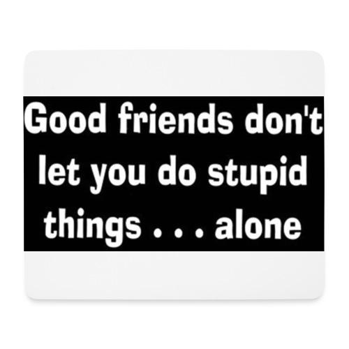 good friends - Mouse Pad (horizontal)