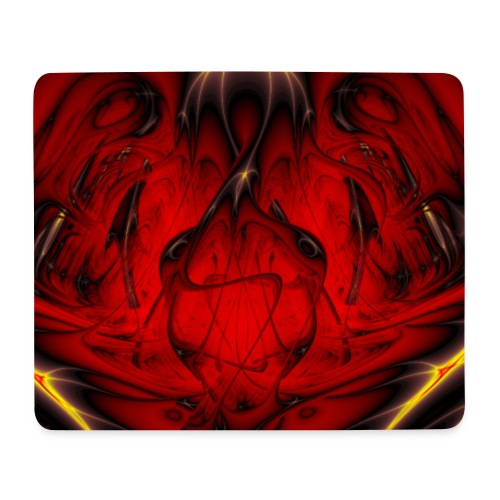 Fraktal - Herzschlag - Mousepad (Querformat)