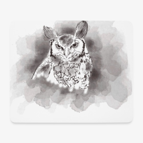 Owl be there for you - Mousepad (bredformat)