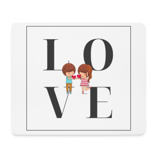 Love - Tappetino per mouse (orizzontale)