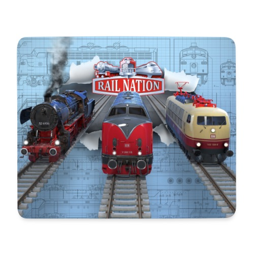 Rail Nation Mousepad - Mousepad (Querformat)