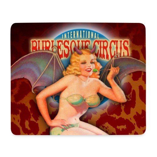 The International Burlesque Circus - Beastilicious - Mouse Pad (horizontal)