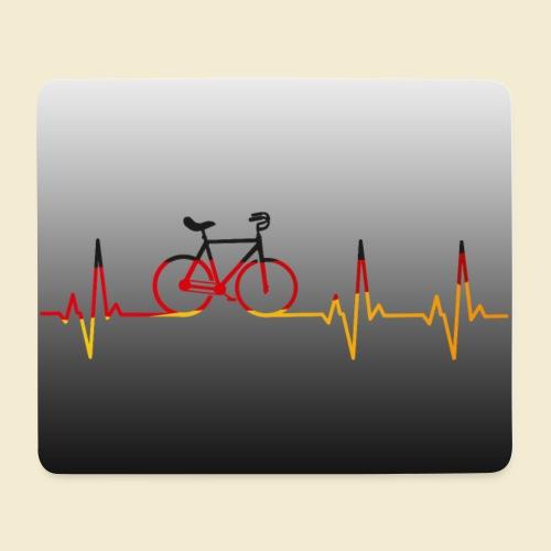 Kunstrad Heart Monitor Maske - Mousepad (Querformat)