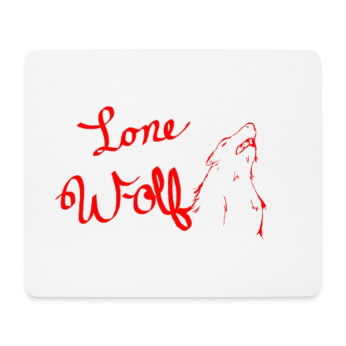Lone Wolf Official - Mouse Pad (horizontal)