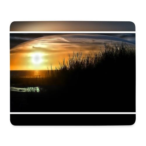 Sonnuntergang an der Nordsee - Mousepad (Querformat)