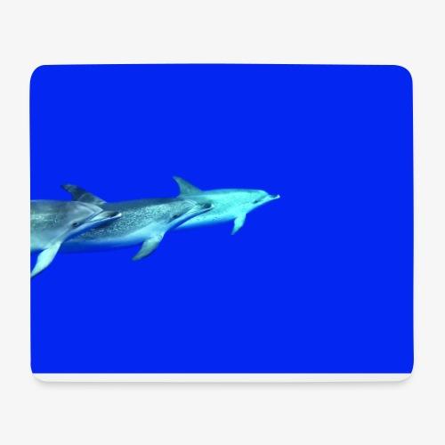 Delfinliebe - Mousepad (Querformat)
