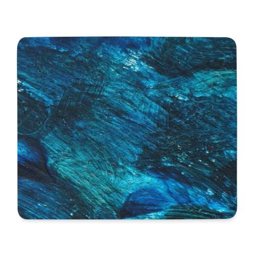 Abstract Art blue - Mousepad (Querformat)