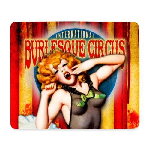 Int. Burlesque Circus - monsters in pajamas - Mouse Pad (horizontal)