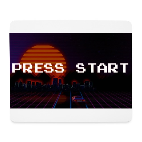 Press Start - Mousepad (bredformat)