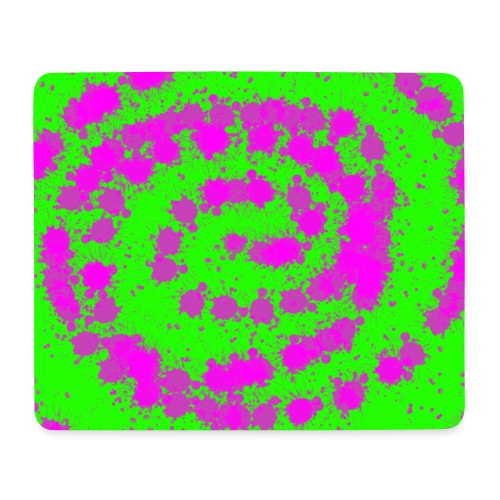 Green Pink Motion Pad! - Mousepad (Querformat)