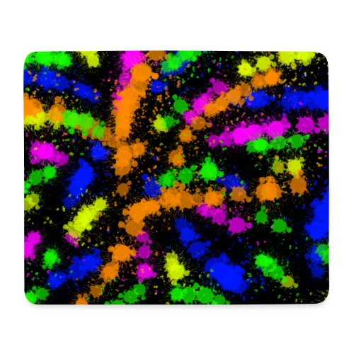 Neon Colour Pad! - Mousepad (Querformat)