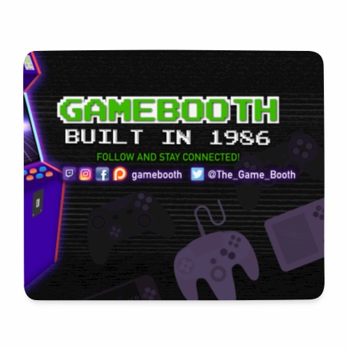 Game Booth Mousepad - Mouse Pad (horizontal)