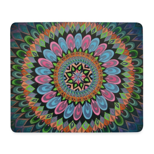 Mandala Aquarius - Mousepad (Querformat)