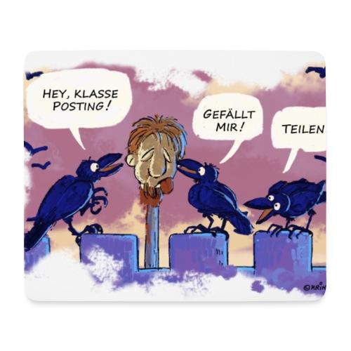 Klasse Posting! - Mousepad (Querformat)