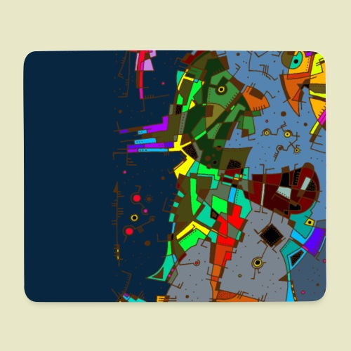 Strange Night - Mouse Pad (horizontal)