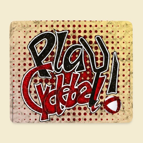 Radball | Play Cycle Ball Poster - Mousepad (Querformat)