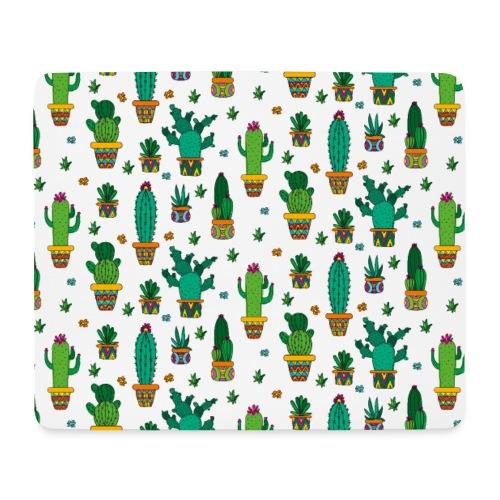 Kaktus Kakteen Wüste Wüsten Pflanze Muster - Mousepad (Querformat)