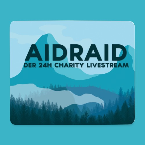 Aid Raid Mousepad - Mousepad (Querformat)