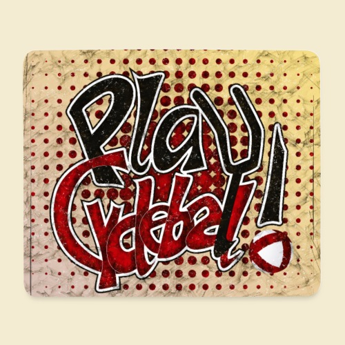 Radball | Play Cycle Ball Poster - Mousepad (Querformat)