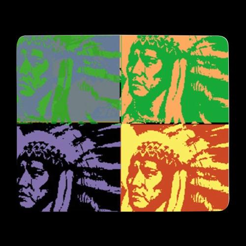 POP ART AMERINDIEN - Tapis de souris (format paysage)