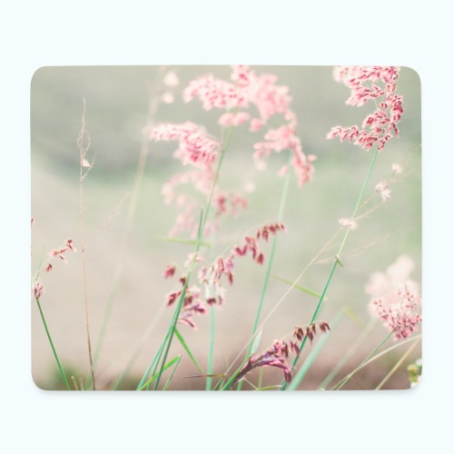 Summer meadow watercolor nature - Mouse Pad (horizontal)