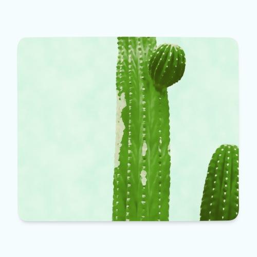 Cactus minimalism watercolor - Mouse Pad (horizontal)