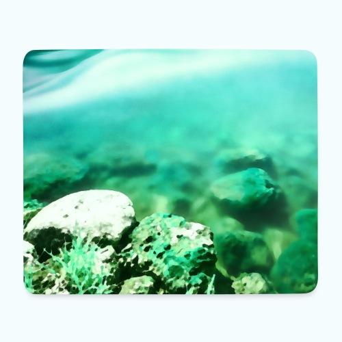 Zen beach watercolor minimalism - Mouse Pad (horizontal)