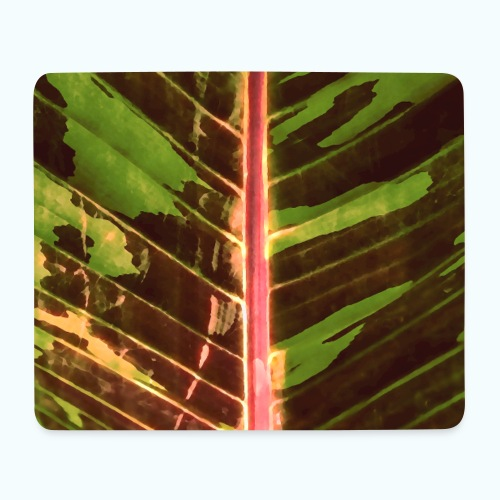 Bananas leaf watercolor - Mouse Pad (horizontal)