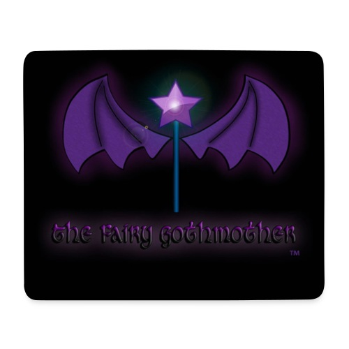 The Fairy Gothmother logo - Mouse Pad (horizontal)