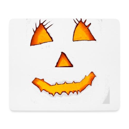 HALLOWEEN Gruselig lächelndes Kürbis Gesicht. - Mousepad (Querformat)