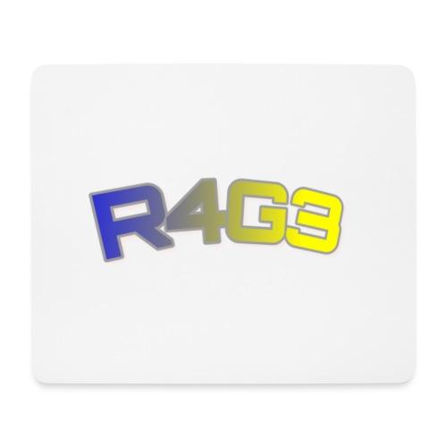 R4G3 Farbige Schrift Designs - Mousepad (Querformat)