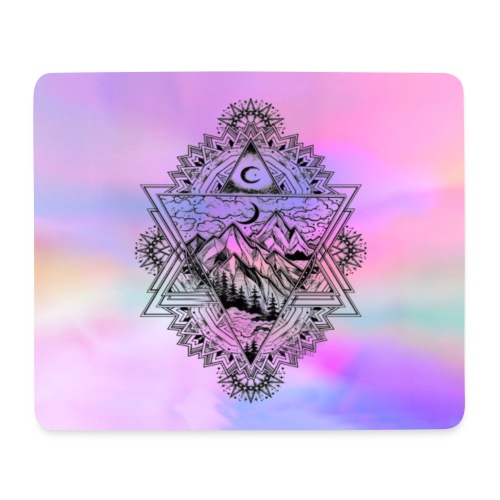 Love the nature - Mousepad (Querformat)