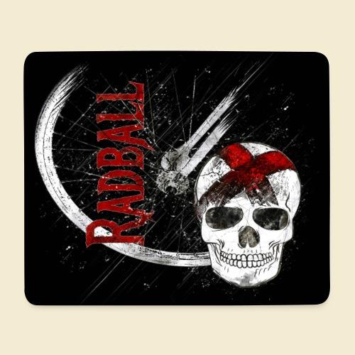 Radball | Cycle Ball Skull | Muster - Mousepad (Querformat)